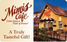 15% off Mimi's Cafe gift cards.