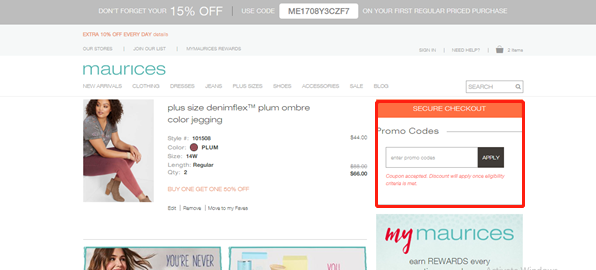 Maurices Coupons 01