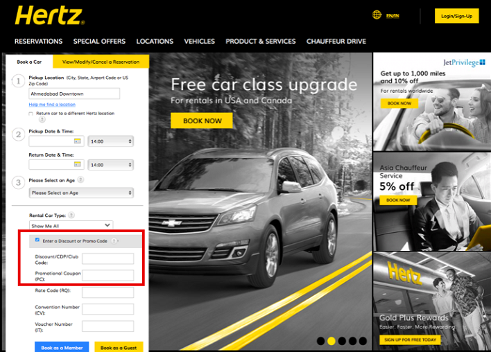 Hertz Coupons 01