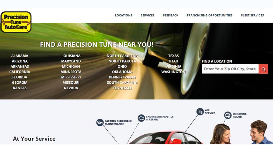 Precision Tune Auto Care Coupons