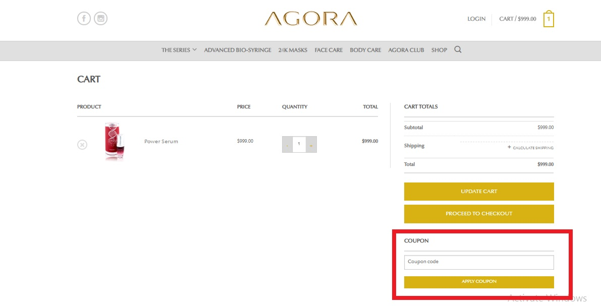 Agora Cosmetics Coupons
